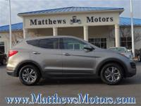 Look at this 2016 Hyundai Santa Fe Sport 4W. Its