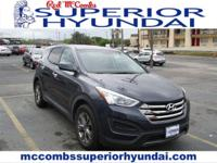 Safe and reliable, this Used 2016 Hyundai Santa Fe