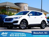 2016 Hyundai Santa Fe Sport in White. Vehicle stability