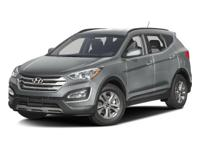 Options:  2016 Hyundai Santa Fe Sport|Frost White