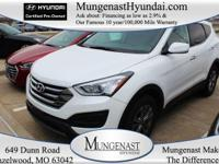 Hyundai Certified and AWD. Room for your growing