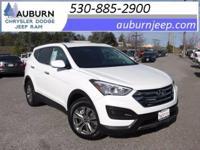 AWD, CRUISE CONTROL! This sporty 2016 Hyundai Santa Fe