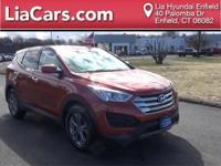 2016 Hyundai Santa Fe Sport in Canyon Copper, 1 Owner!,