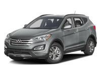 Recent Arrival! Clean CARFAX. 2016 Hyundai Santa Fe