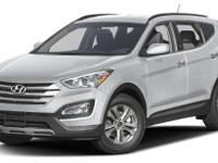 Santa Fe Sport trim. CARFAX 1-Owner, ONLY 11,639 Miles!