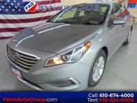 CARFAX One-Owner. Clean CARFAX. Gray 2016 Hyundai