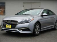 pewter gray metallic 2016 Hyundai Sonata Hybrid Limited