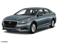 Treat yourself to this 2016 Hyundai Sonata Hybrid SE,