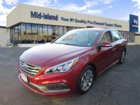 This 2016 Hyundai Sonata 2.4L Limited is Priced Below