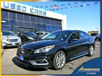 This fully loaded Hyundai Sonata Limited offers low