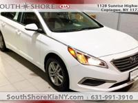 New Price! White 4D Sedan 2016 Hyundai Sonata SE FWD