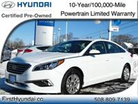 HYUNDAI CERTIFIED- WITH JUST 13K -  One Owner SE Sonata