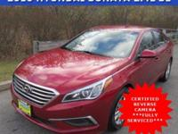 Snatch a bargain on this certified 2016 Hyundai Sonata