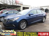 New Arrival! *CarFax One Owner!* This Sonata Includes