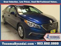 1 Owner Clean Car-Fax Texoma Hyundai is honored to