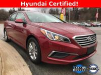 HYUNDAI CERTIFIED PRE-OWNED WARRANTY ~ ONE OWNER ~