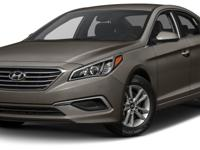 Options:  2016 Hyundai Sonata Se|Miles: 35138Color: