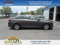 This 2016 Hyundai Sonata SE in Brown is well equipped