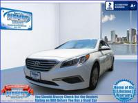 This 2016 Hyundai Sonata 2.4L SEIs Priced Below The
