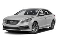 Options:  2016 Hyundai Sonata White/ V4 2.4 L