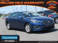 Blue 2016 Hyundai Sonata SE FWD 6-Speed Automatic with