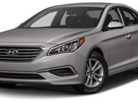 Sonata SE, 4D Sedan, 6-Speed Automatic with Shiftronic,