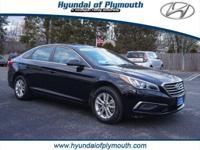 EPA 36 MPG Hwy/25 MPG City! Hyundai Certified,