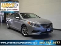 2016 Shale Gray Metallic Hyundai Sonata 6-Speed
