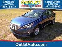 This 2016 Hyundai Sonata 2.4L SE is offered to you for