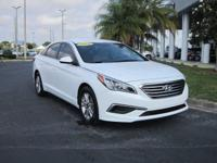 2016 Certified Pre Owned Sonata S E, One Owner, Extra