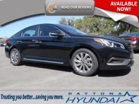 The 2016 Hyundai Sonata features an expressive exterior