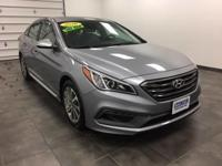 2016 Hyundai Sonata 2.4L Sport one owner with a perfect