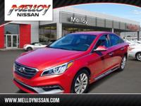 This 2016 Hyundai Sonata 2.4L Sport is proudly offered