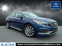 Sonata Sport, *Hyundai CERTIFIED*, *LOW MILES; for a