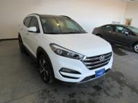 Winter White 2016 Hyundai Tucson Limited 7-Speed