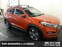 2016 Hyundai Tucson Limited Sedona Sunset Factory MSRP: