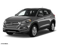 Recent Arrival! 2016 Hyundai Tucson Gray AWD. Odometer