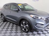 2016 Hyundai Tucson Coliseum Gray Certified. Clean