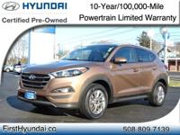 HYUNDAI CERTIFIED- AWD-One Owner SE Tucson comes with