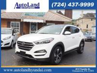 This 2016 Hyundai Tucson Limited boasts features like a