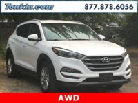 2016 Hyundai Tucson Eco Winter White CARFAX One-Owner.