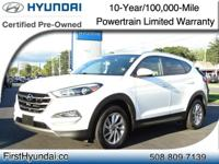 HYUNDAI CERTIFIED- AWD One Owner TUCSON ECO TURBO JUST