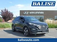 2016 Hyundai Tucson Limited one owner with a perfect