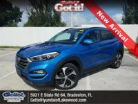Certified. Clean CARFAX. This 2016 Hyundai Tucson Eco