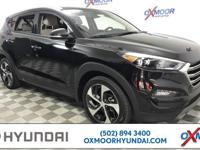 Certified. Hyundai Tucson Limited CARFAX One-Owner.