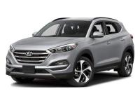 Certified. Blue 2016 Hyundai Tucson Limited AWD 7-Speed