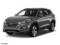2016 Gray Hyundai Tucson Limited Hyundai Certified