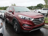 Certified. Ruby 2016 Hyundai Tucson Limited FWD 7-Speed