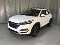 White 2016 Hyundai Tucson Limited FWD 7-Speed Automatic