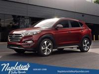 ** 2016 Hyundai Tucson in Blue AURORA NAPERVILLE**.